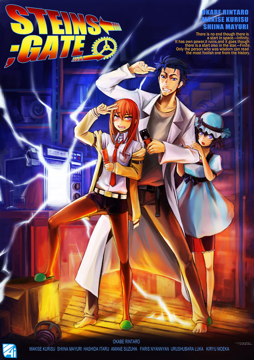steins gate 24 end el psy congroo the jinxed darkstar blog