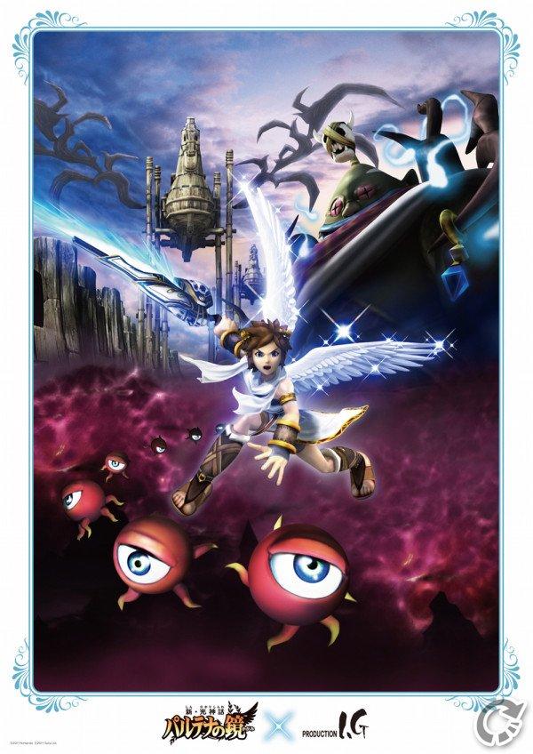 Kid Icarus Anime Thanatos Rising