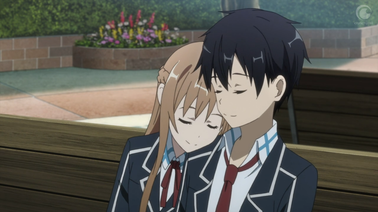 Foto Kirito Dan Asuna sword art online #25(end): a very kirigaya christmas | [the