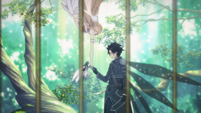 You're too late, Kirito. She's already been violated in ways you can't imagine.