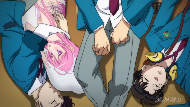 What kind of school allows body pillows?