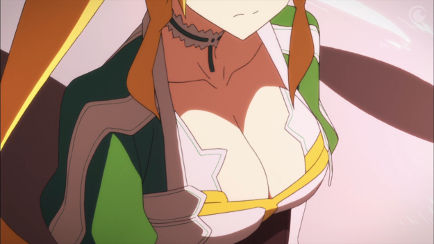 ...we get a unnecessary shot of Leafa's tits...