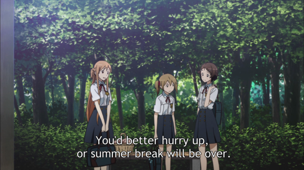 Hey, remember Keiko Ayano/Silica and Rika Shinozaki/Lizbeth? No? I bet you didn't because they were good characters.