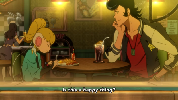 Space Dandy #5: Adélie the Cute Little Alien Girl
