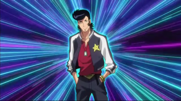 What'd you expect? The fate of the entire universe rests on one dandy man. And all of a sudden, all of Space Dandy makes sense now.