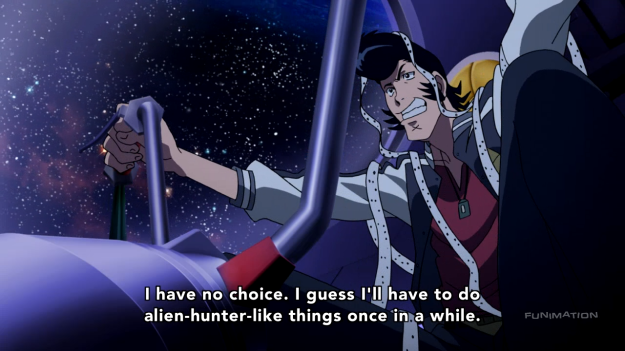 So you're saying you haven't been doing any alien hunter-like things before? Well, this is quite the revelation...