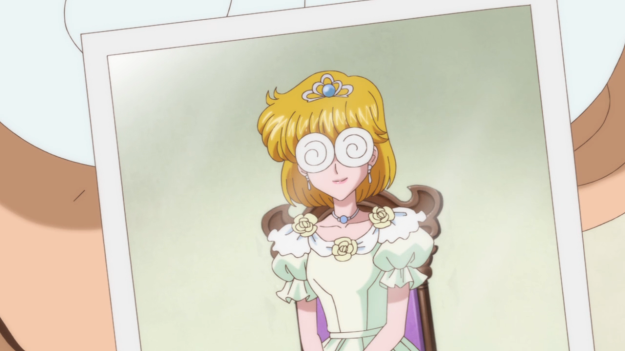 Umino and Princess D has the same nerdy glasses. I'm pretty sure it's just a coincidence.