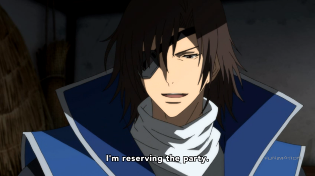 Too late for you, Masamune. The party's been over about three years ago.